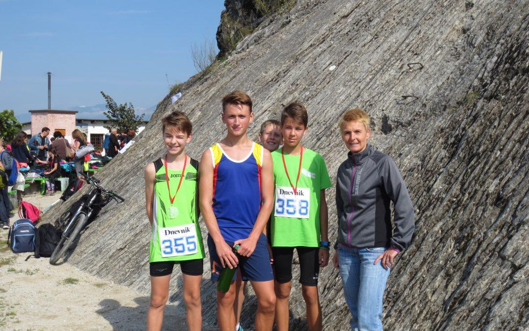 Uspešni gorski tekači