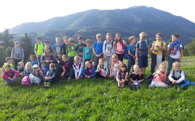 Prvi planinski izlet