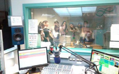 Obisk radia in časopisne hiše